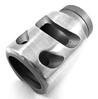 For Commander Compensator Polished Stainless/Short